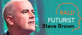 2017 Keynote Speaker: Steve Brown, The Bald Futurist